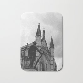 Soldier and cathedral Bath Mat