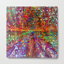 colourful peace Metal Print