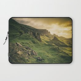 Mesmerized By the Quiraing IV Laptop Sleeve