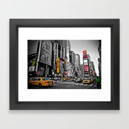 Times Square - Hyper Drop Framed Art Print