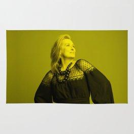 Meryl Streep - Celebrity (Florescent Color Technique) Rug