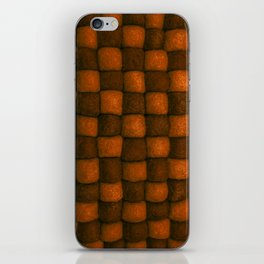 The world of wool - chocolate and honey iPhone Skin