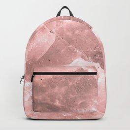 Rose quartz stone Backpack