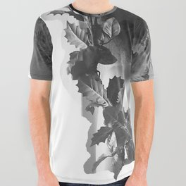 Mannequin Muse All Over Graphic Tee