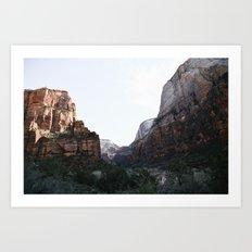 Zion National Park II Art Print