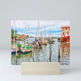 Colors of Belize Mini Art Print