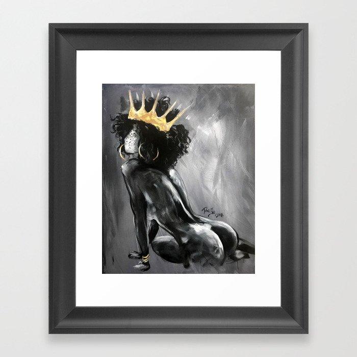Naturally Queen VIII Gerahmter Kunstdruck