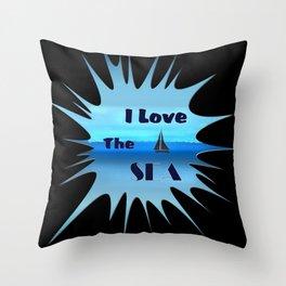SEA LOVE Throw Pillow