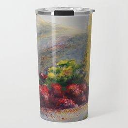 L allée des cotinus Travel Mug