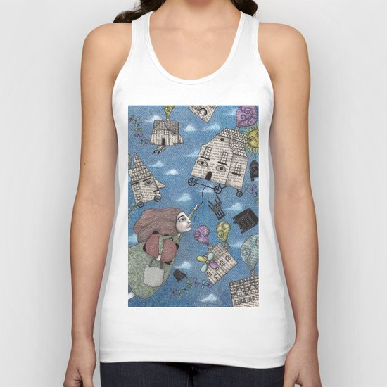 Moving Day Unisex Tank Top