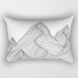 Mounains II Rectangular Pillow
