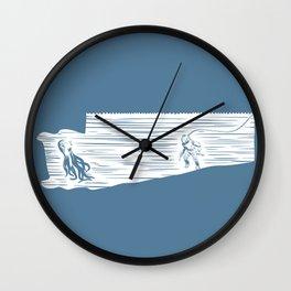 Deep Seasaw Diver Wall Clock