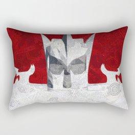 Mechanical Man Rectangular Pillow