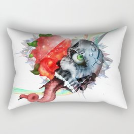 Skull - You Can Be So Blind to What's in Front of You, Eyes Open Rectangular Pillow