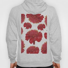 Floral Theme- Ginger Lily Watercolor Illustration Hoody