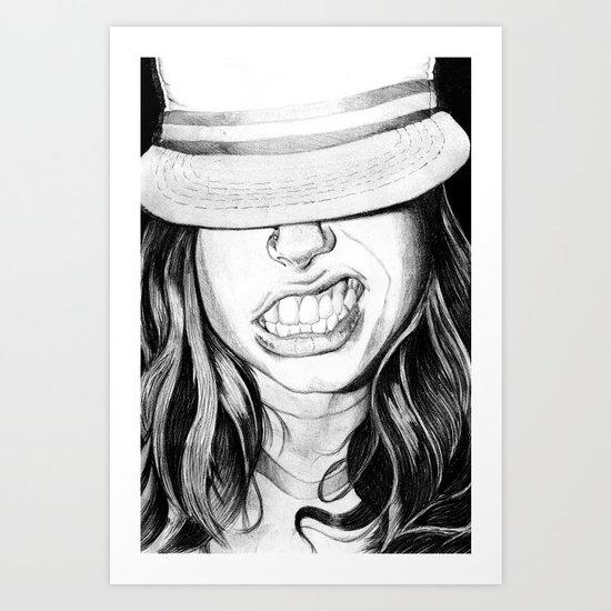 Cabrallin' Art Print