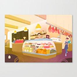 The Deli Canvas Print