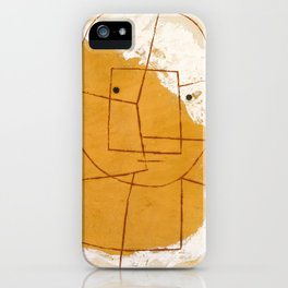 One Who Understands by Paul Klee, 1934 iPhone Case