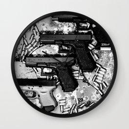 Steel n Ammo Wall Clock