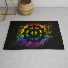 Helm of Awe - Pride Rug