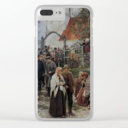 Janis Rozentals After Church Clear iPhone Case