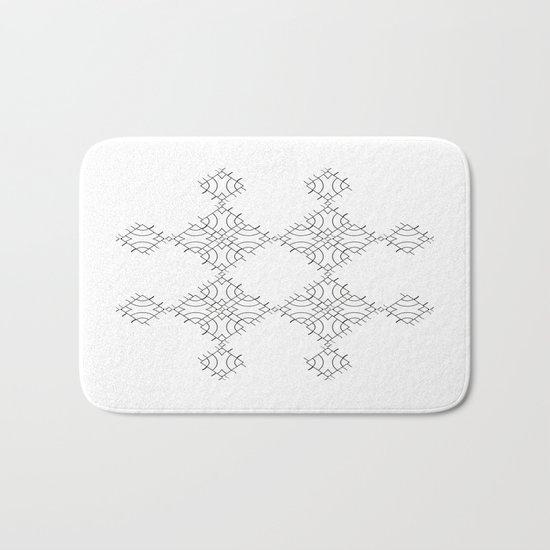 electronic shapes Bath Mat