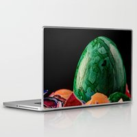 easter Laptop & iPad Skins featuring Easter by Karl-Heinz Lüpke