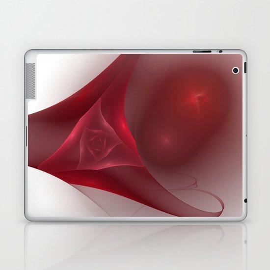 Rose Fractal Laptop & iPad Skin