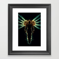 Tyrael Framed Art Print