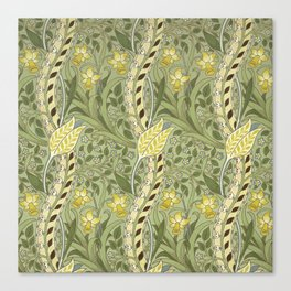 "William Morris ""Daffodil"" Canvas Print"