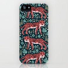 Safari Tiger by Andrea Lauren  Slim Case iPhone (5, 5s)