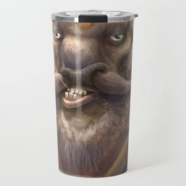 Bison Lumberjack Travel Mug