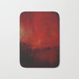 FOREST RED Bath Mat