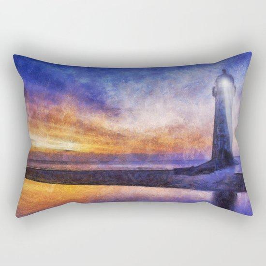 Talacre Lighthouse Rectangular Pillow