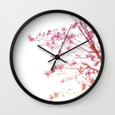 Sun-Drenched Wall Clock
