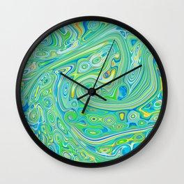 Summer Melt Wall Clock