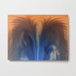 Blue Whirlwind MMV Metal Print