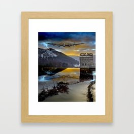 Lancaster Sunrise Framed Art Print