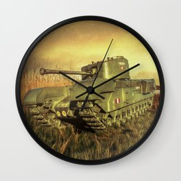 Churchill Tank Wall Clock