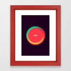 Spectrum Framed Art Print