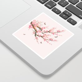 Pink Cherry Blossom Dream Sticker