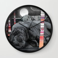 Sweet Dreams Ursus Arctus  Wall Clock