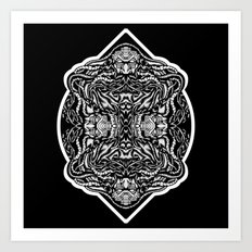 Wizardcore Art Print