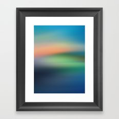 Abstract Seascape Framed Art Print
