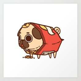 Puglie Chips Art Print
