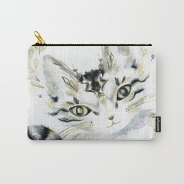 Curiosity Cat Carry-All Pouch