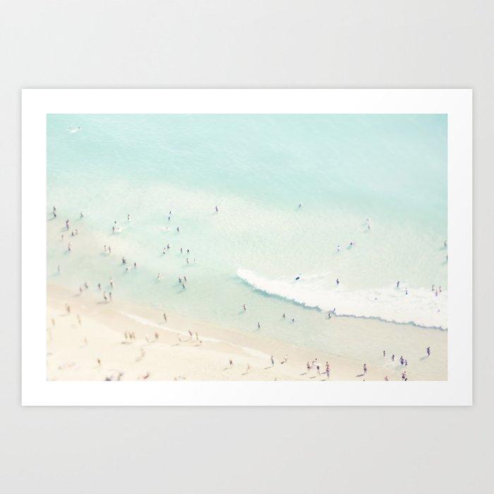 beach summer fun Kunstdrucke