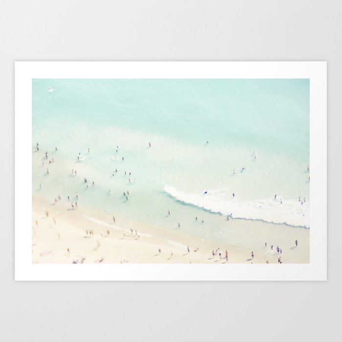 Sunday's Society6 | Sea art print