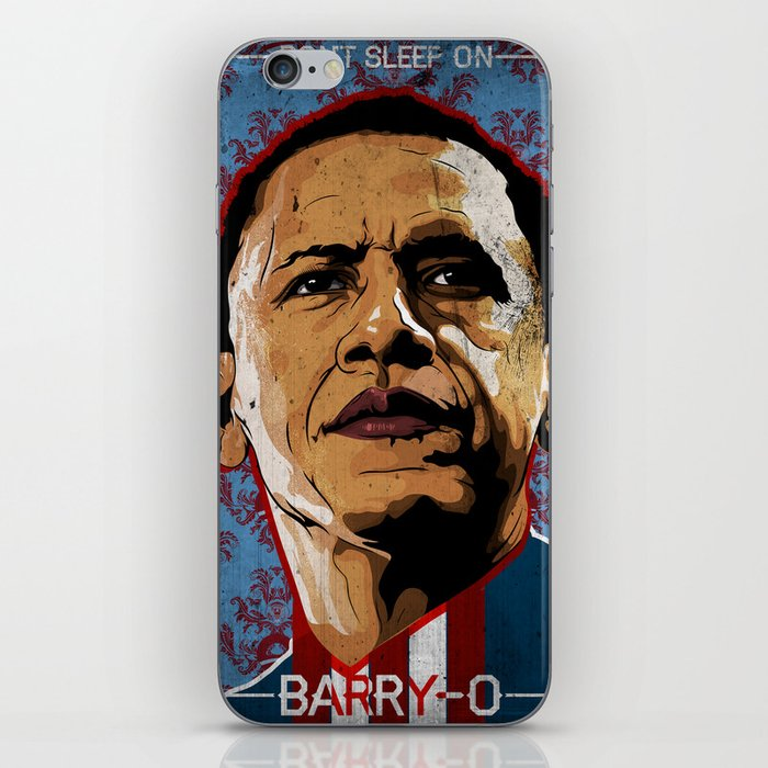 Don't Sleep on Barry O iPhone Skin