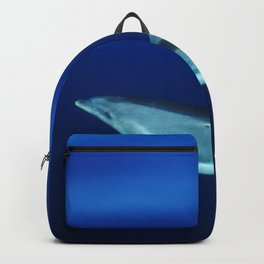 Dolphin and blues Backpack
